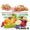 Più cereali, legumi, ortaggi e frutta