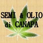 Dalla natura: semi ed olio di canapa