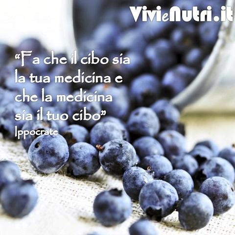 Fa che il cibo sia la tua medicina e che la medicina sia il tuo cibo Ippocrate