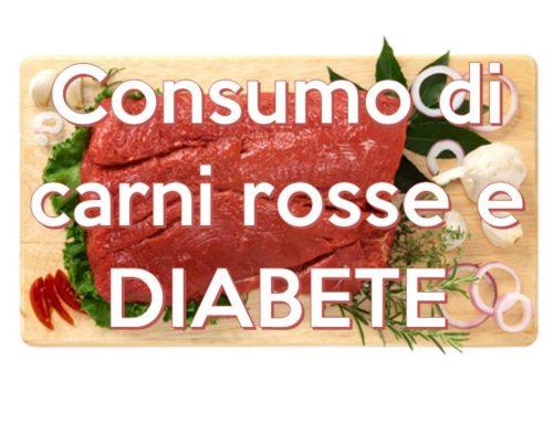 Consumo di carni rosse e diabete