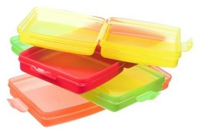 Utilizza contenitori puliti e chiusi
