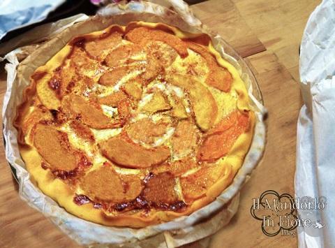 procedimento, valori nutrizionali: Torta Salata Ricotta e Zucca