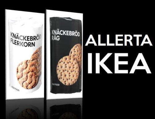 IKEA: restituire il pane Multigrain Crispbread e Rye Crispbread