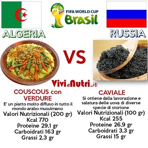 piatti tipici couscous contro caviale