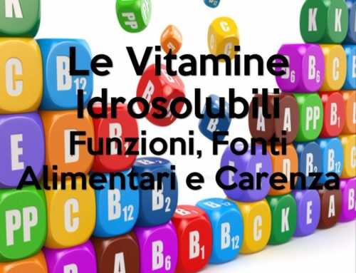 Le Vitamine Idrosolubili