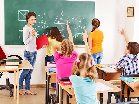 Bambini e ragazzi in età scolare