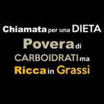 Chiamata per una Dieta Povera di Carboidrati ma Ricca in Grassi