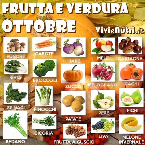 stagionalità ottobre