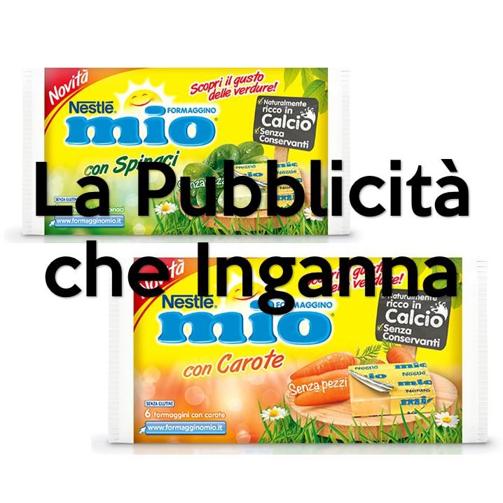 E' notizia di pochi giorni fa che il Comitato di controllo del Giurì di autodisciplina pubblicitaria ha censurato due spot del Formaggino Mio: Formaggino Mio con Carote e Formaggino Mio con Spinaci.