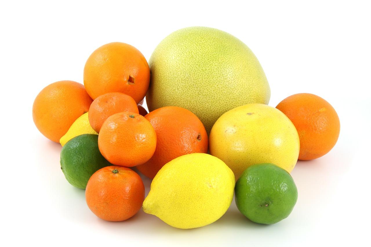 arancio, pompelmo, limone, lime, mandarino