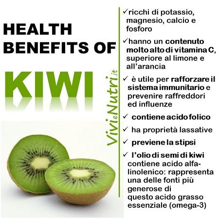 Il Kiwi: effetti benefici sulla nostra salute