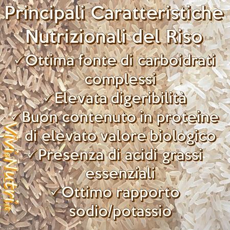 Il Riso: caratteristiche nutrizionali