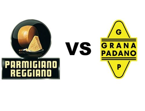 Grana Padano o Parmigiano Reggiano?