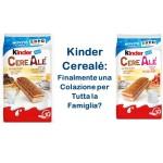 Kinder Cerealé: la Nuova Colazione Ferrero