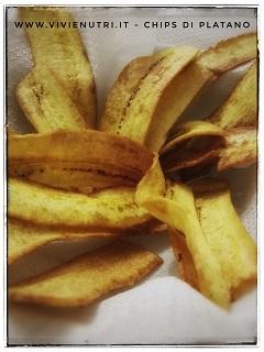 chips di platano verde