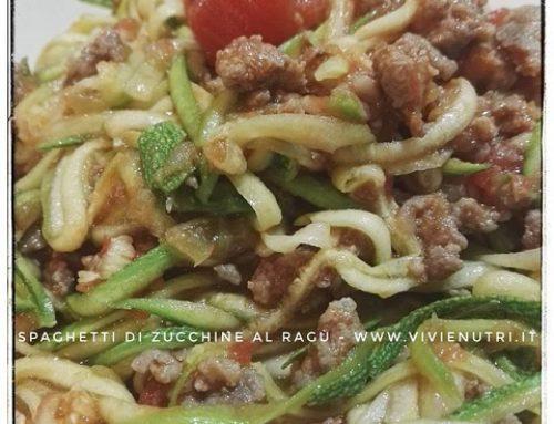 Spaghetti di Verdure al Ragù